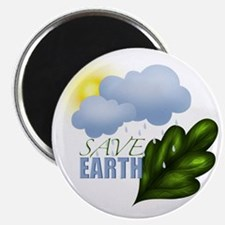 Save Earth Magnet