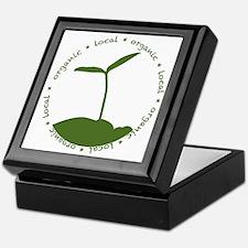 Local  Organic Keepsake Box
