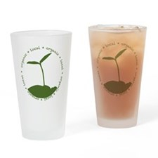 Local  Organic Drinking Glass