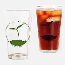 Local  Organic Drinking Glass