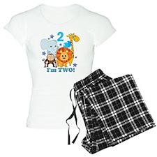 baby2JungleAnimals Pajamas
