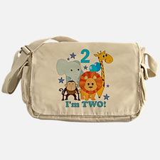 baby2JungleAnimals Messenger Bag