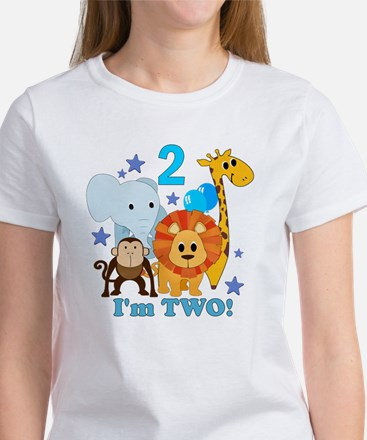 baby2JungleAnimals Women's T-Shirt