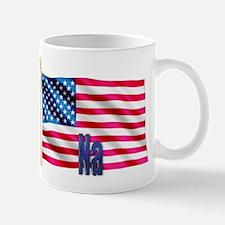 Na American Flag Gift Mug