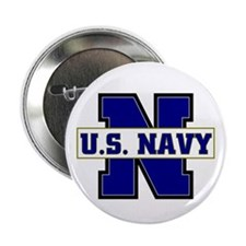 "U S Navy 2.25"" Button (100 pack)"