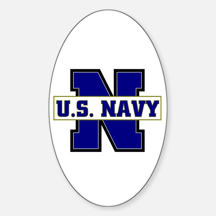 U S Navy Oval Decal