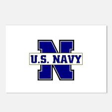 U S Navy Postcards (Package of 8)
