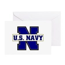 U S Navy Greeting Cards (Pk of 10)