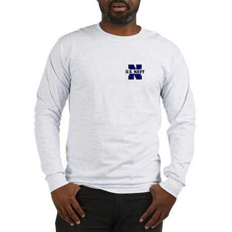 U S Navy Long Sleeve T-Shirt
