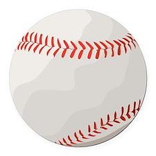 baseball symbol Round Car Magnet
