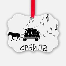 Serbian Party Ornament