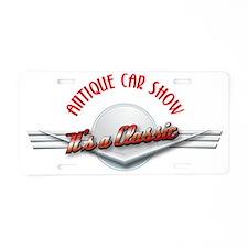 ANTIQUE CAR Aluminum License Plate