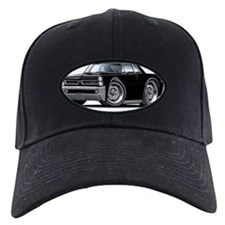 1965 GTO Black Car Baseball Hat