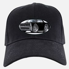 1965 GTO Black Car Baseball Hat
