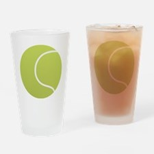 Tennis Ball Icon Drinking Glass