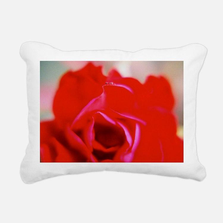 My Dear Ant Rose 2_2 Rectangular Canvas Pillow