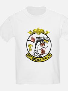 USS BASHAW Kids T-Shirt