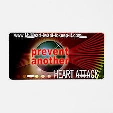 Heart_Disease_Space2 Aluminum License Plate