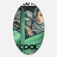 COOL for LIGHT SHIRTS Sticker (Oval)
