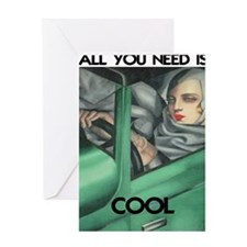 COOL for LIGHT SHIRTS Greeting Card
