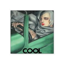 "COOL for LIGHT SHIRTS Square Sticker 3"" x 3"""