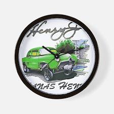 Hanas Henry Race Wall Clock