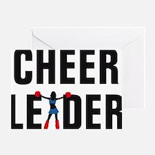 Cheerleader Greeting Card