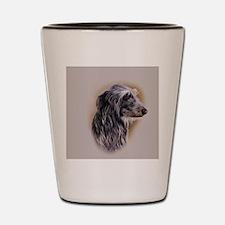 Scottish Deerhound jewel Shot Glass