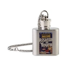 Assassin_of_Youth BIG PNG Flask Necklace