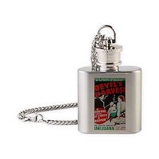 Devils Harvest BIG PNG Flask Necklace