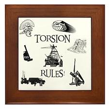 Torsion Rules t-shirt 24 Framed Tile