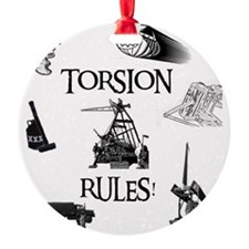 Torsion Rules t-shirt 24 Ornament
