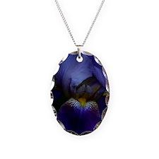Iris Framed Print Necklace