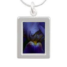 Iris Jouranl 1 Silver Portrait Necklace