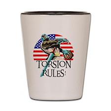 Ernie Torsion Rules small Shot Glass