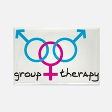 group-therapy-bgb Rectangle Magnet