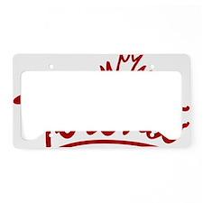 Toronto Leaf Script W License Plate Holder
