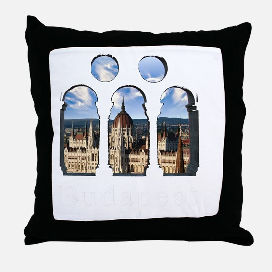 Budapest Parlament Throw Pillow
