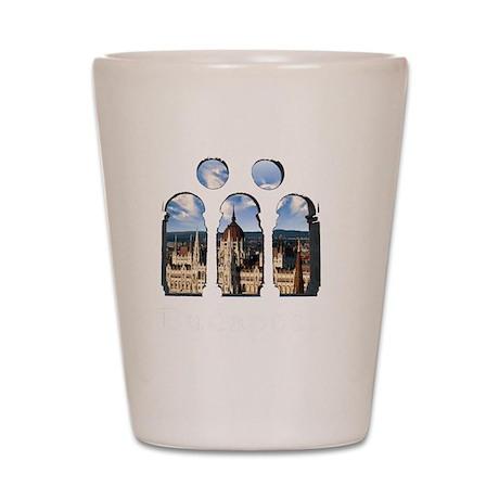 Budapest Parlament Shot Glass
