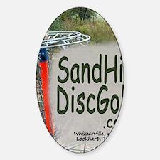 Sand_Hill4new Sticker (Oval)
