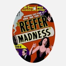 Reefer Madness 1936 BIG PNG Oval Ornament
