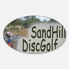 Sand_Hill3new Sticker (Oval)