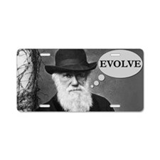 Evolve2 Aluminum License Plate