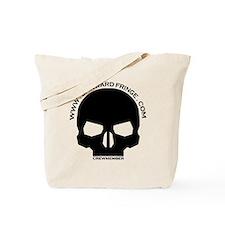 CREWMEMBER-SKULL-LOGO-BLACK Tote Bag