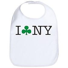 I Shamrock New York Bib