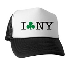 I Shamrock New York Trucker Hat