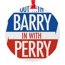 Out With Barry Ornament
