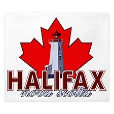 Halifax Lighthouse King Duvet