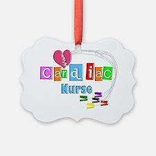 Cardiac Nurse EKG cables Ornament