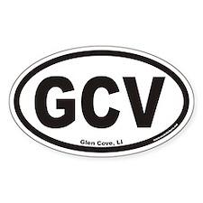 Glen Cove GCV Euro Oval Decal